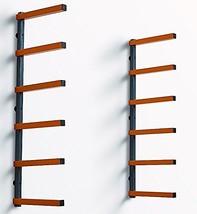 Bora Portamate PBR-001 Wood Organizer and Lumber Storage Metal Rack with 6-Level
