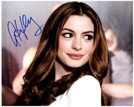 ANNE HATHAWAY  Authentic Original  SIGNED AUTOGRAPHED 8X10 PHOTO w/COA 604 - $90.00