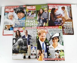 Hello Canada Magazines Lot 5 Prince William Kate Harry Meghan Markle 2019 - $39.95