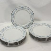 "Noritake Blue Hill Dinner Plates 10.5"" Lot of 12 - $87.22"