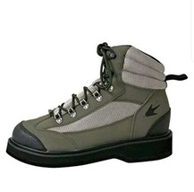 Brand New Frogg Toggs Hellbender Felt Sole Wading Shoe Green/Silver Size... - $58.19