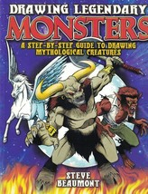 Drawing Legendary Monsters A Step-By-Step Guide to Drawing Mythological ... - $9.99