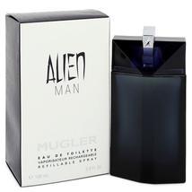 Alien Man by Thierry Mugler Eau De Toilette Refillable Spray 3.4 oz - $53.33