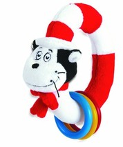 Manhattan Toy Dr. Seuss Cat in The Hat Take and Shake Ring Rattle and Te... - $13.95