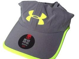 NEW! Grey Graphics Under Armour Men Heatgear Reflective Runner Adjustabl... - $57.40