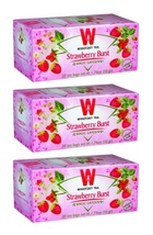 Wissotzky Tea Strawberry Burst, KP 3/20 bags - $18.25
