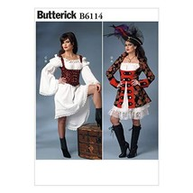 BUTTERICK PATTERNS B6114 Misses' Costume, Size A5 - $10.46
