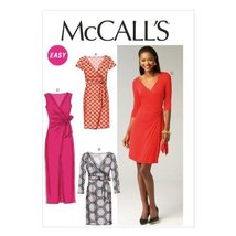 McCall Pattern Company M6884 Misses' Dresses Sewing Template, Size A5 (6-8-10-12 - $14.21