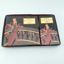 ART DECO WOMEN'S Collection Address Book Set includes Notebook / Birthday Book image 2
