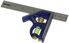 IRWIN Tools Combination Square, Metal-Body, (6-inch|Regular Combination Square) - $22.22