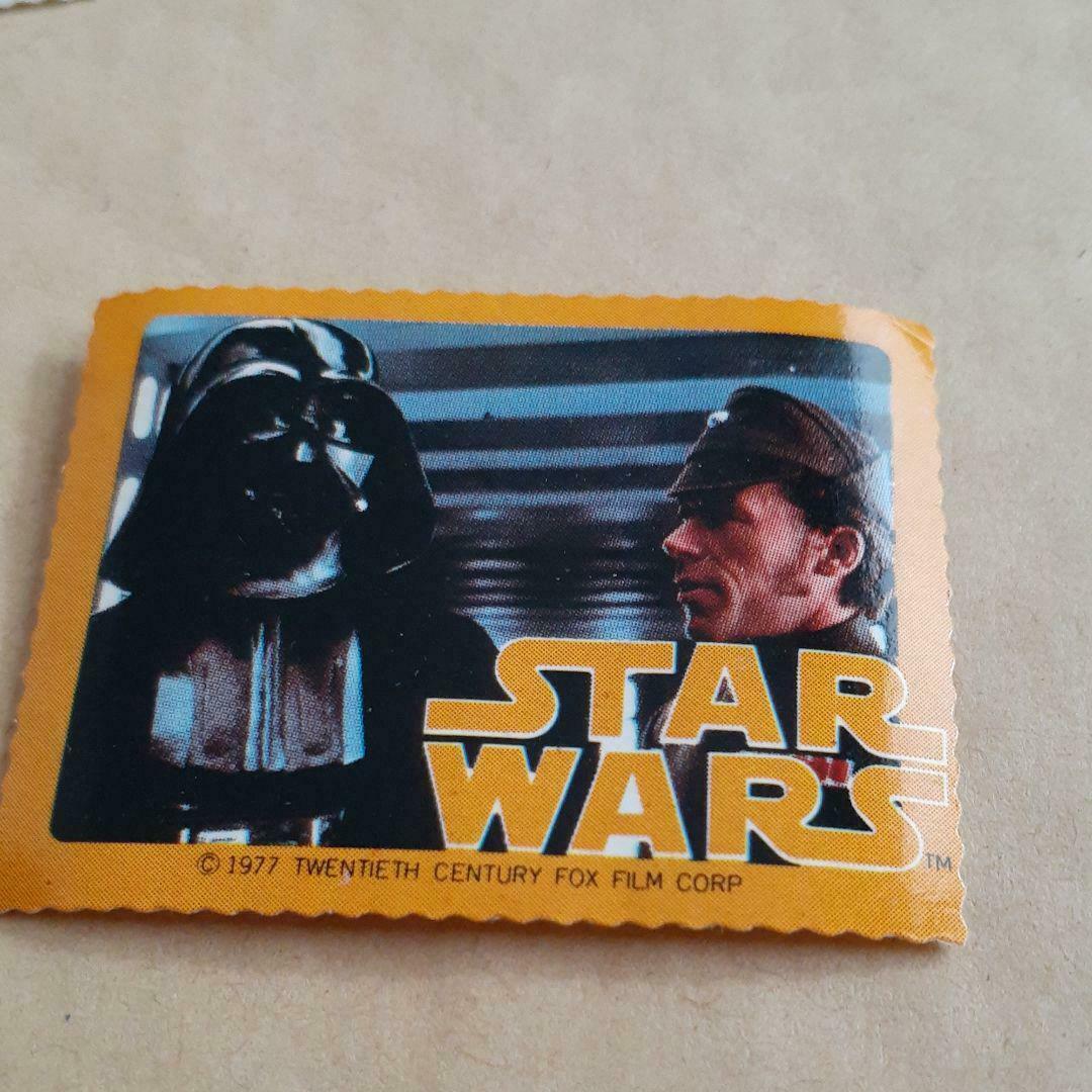 1978 Meiji Star Wars Darth Vader Chocolate Bonus Seal vintage Rare - $99.80