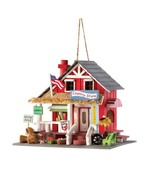 Old Time Country Store Wood Bird House - $21.35