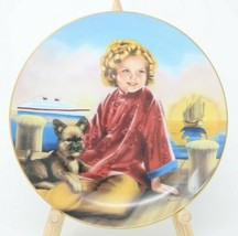 The Danbury Mint Shirley Temple Collector Plate Stowaway w/COA - $24.26