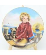 The Danbury Mint Shirley Temple Collector Plate Stowaway w/COA - $24.26