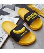 3D Fruit Pattern Home Women Slippers Cartoon Banana Summer Indoor Flats ... - $27.66