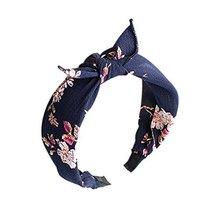 Unique Floral Prints, Bow Headband and Broadside Designed