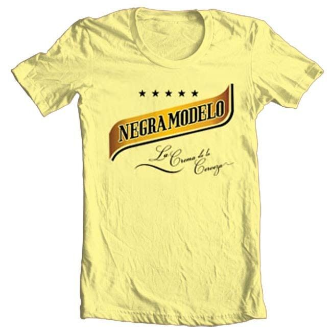 Negra Modelo T-shirt Free Shipping beer mexico 100% cotton graphic printed tee