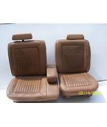 1989 TAN BROUGHAM SPLIT BENCH SEAT OEM USED CADILLAC FLEETWOOD RWD 1988 ... - $742.50