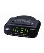 Sony Black Dream Machine AM/FM Alarm Clock Radio ICF-C212 - $99.99