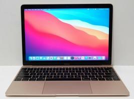 "Apple MacBook Core m3 1.1GHz 8GB 256GB 12"" MLHE2LL/A Gold (Big Sur) - $449.99"
