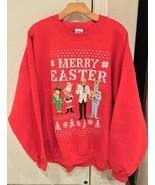 Steve Harvey Ugly Christmas Sweater Merry Christmas Men's Size L - $9.89
