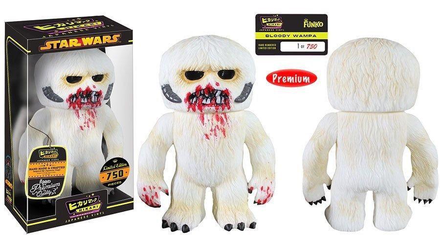 Star Wars Bloody Wampa Funko Hikari Vinyl Figure Limited 750 NEW SEALED - $58.00