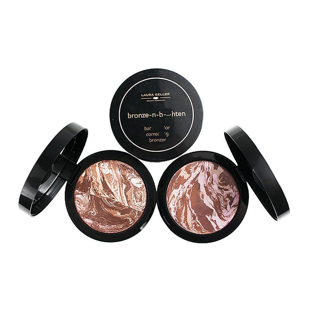 Laura Geller Bronze-n-Brighten Baked Color Correcting Bronzer XL .85oz SCRATCHED - $44.30