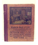 Rare 1920's Pearson - Page Co Birmingham & London, England Catalog - $499.99