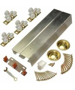 "Johnson Hardware 138F Sliding Bypass Door Hardware 60"" 2 Door System - $67.45"