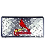 St. Louis Cardinals MLB Diamond Plate License Plate - $8.86