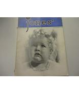 Hollywood Gossip Jones' Movie Magazine Stars Celebrity Vintage 1938  - $24.45