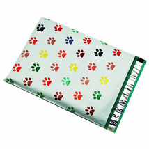1000 10x13 Puppy Paws Designer Poly Mailers Envelopes Boutique Custom Bags - $69.95