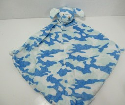 Angel Dear plush blue camo puppy dog Baby Security Blanket Lovey camoufl... - $39.59
