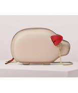 Kate Spade year of the pig portia Chain Crossbody Clutch ~NWT~ warm vellum - $245.52