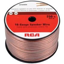 RCA AH16250SR 16-Gauge Speaker Wire (250ft) - $63.02