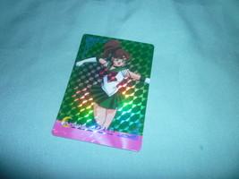 OFFICIAL JAPAN SAILOR MOON  JUPITER HERO  VINTAGE HARD PRISM CARD - $45.00