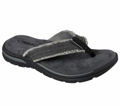 Men's Skechers Relaxed Fit: Supreme - Bosnia Sandals, 64152 /BLK Multipl... - $67.21 CAD