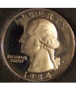 1984-S DCAM Clad Proof Washington Quarter #0371 - $3.99