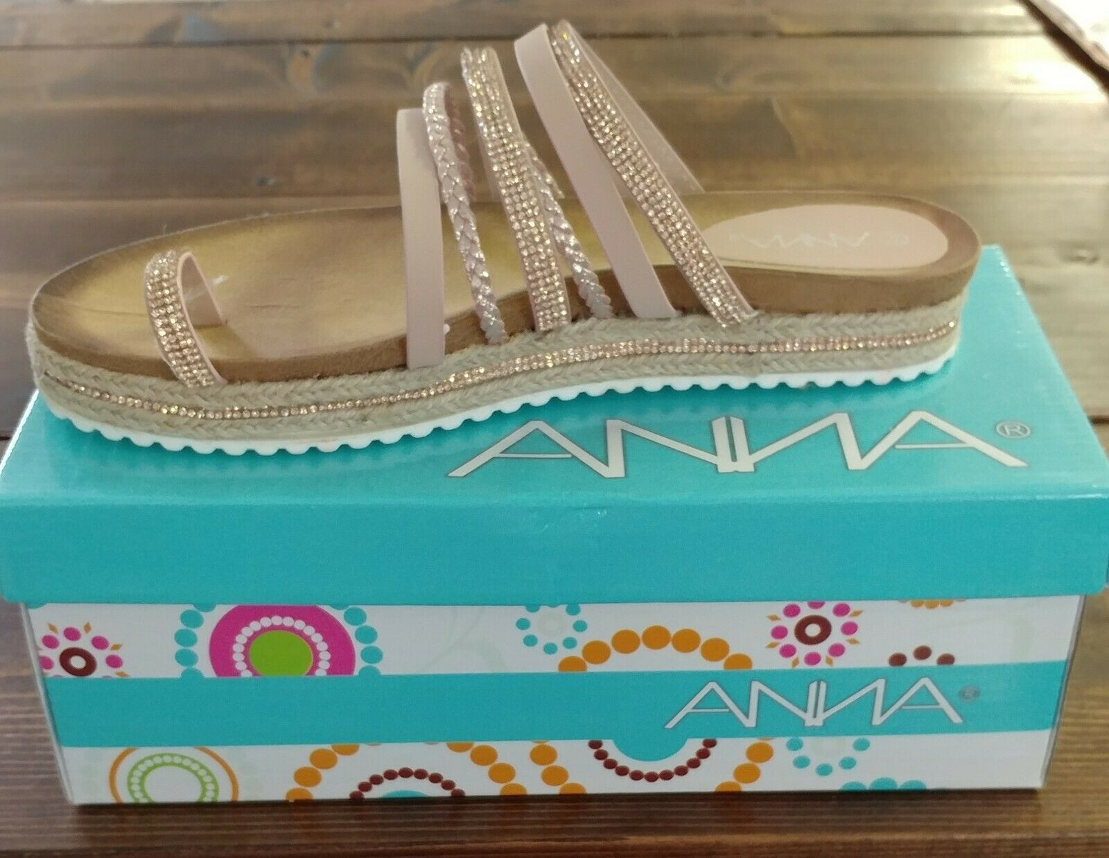 Woman's Rose Gold Sandles