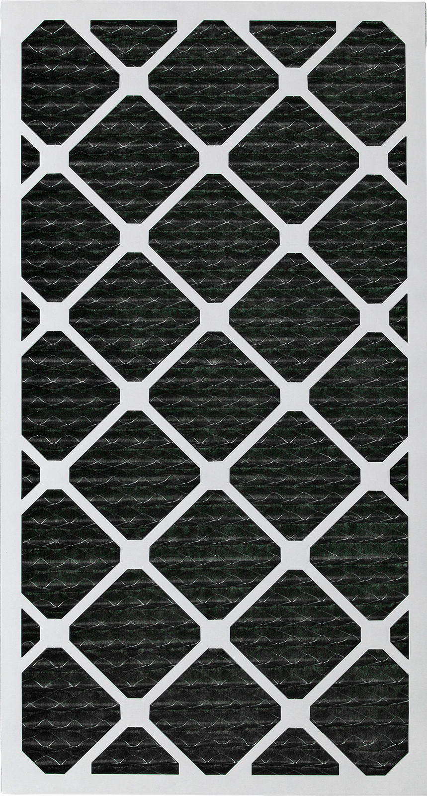 Nordic Pure 12x30x1 MERV 8 Pure Carbon Pleated Odor Reduction AC Furnace Air Filters 1 Pack
