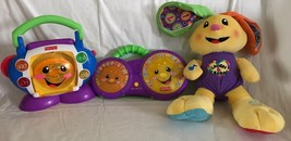 Fisher Price Laugh & Learn Sing-with-Me CD Player, Bongo Drums & Plush B... - $19.80