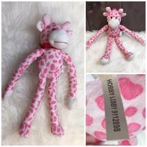 "Hobby Lobby Pink Giraffe 17"" Plush Doll Stuffed Toy  - $7.85"