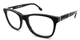 Diesel Rx Eyeglasses Frames DL5124 056 52-18-145 Dark Grey Denim on Havana - $50.96