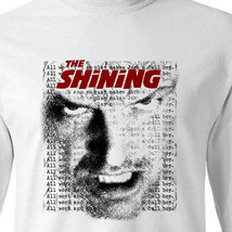 The Shining Jack t-shirt retro horror Stephen King 80's 100% cotton Long Sleeve image 1