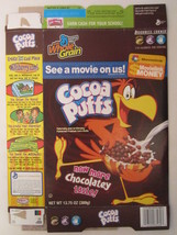 Empty General Mills Cereal Box 2006 Cocoa Puffs 13.75 Oz Movie Link $ [G7C1n] - $7.17