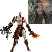 19cm God of War Kratos in Golden Fleece Armor with Medusa Head PVC Actio... - $20.50