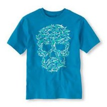 Children's Place  Boys T-SHIRT Size XS 4  NWT Shark Skull - $12.99