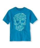 Children's Place  Boys T-SHIRT Size XS 4  NWT Shark Skull  - $10.39