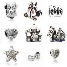 Charms Silver-plated Vintage lovely Fits Pandora Bracelets & Bangle Beads - $19.99+