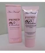 Too Faced Primed & Poreless Skin Smoothing Face Primer Foundation Makeup... - $39.00
